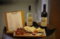 Vino Volo in Terminal A lures customers with a display of its offerings.