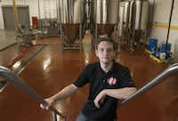 Wim Bens, is president and head brewer at the Lakewood Brewing Company. Photographed on Friday, August, 31, 2012.