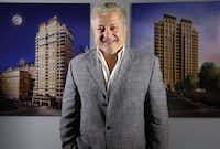 Mehrdad Moayedi's Centurion American Development purchased the unfinished Stoneleigh tower, which is likely to be the only new condo high-rise coming on the market in Uptown for several years.