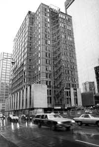 Dallas' grand Cotton Exchange building was torn down in the mid 1990s following an earlier modernization that hid its original architecture.