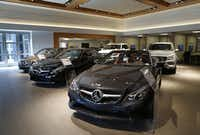 Park Place Motorcars in Dallas has strong sales of the CLS and S-Class sedans, which start at $72,000 and $94,400. The new dealership in Arlington is expected to appeal more to Gen Y buyers with the CLA and GLA models.Evans Caglage - Staff Photographer