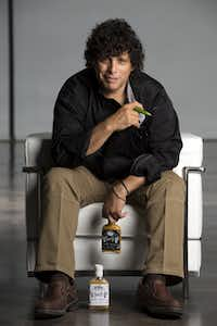 Frankie Valdez packages his habanero, serrano and other sauces in flasks-shape bottles to give the lineup some exra kick. His Frankie V's Kitchen also has spreads, nut butters and jams.