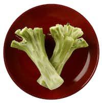 Peeled Broccoli Stalks