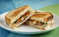 Tallegio and Cured Ham Panini from David Uygur, Chef-Owner of Lucia (