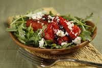 Grilled Watermelon-Arugula Salad