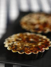 A cookie base and lime flavoring give a different spin to crème brûlée.Evans Caglage