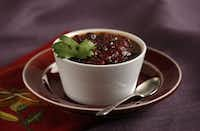 For a sassier cranberry sauce, stir 1 to 2 tablespoons chipotle salsa and 2 tablespoons chopped cilantro leaves into each cup of cranberry sauce.