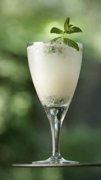 The coconut Mojito from Sangria