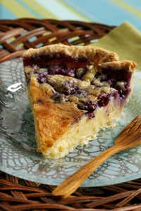 Randy's Blueberry Buttermilk Pie will make you the star of the picnic or potluck.
