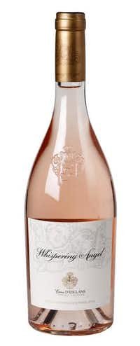 Whispering Angel Côtes de Provence Rosé, Caves D'Esclans, 2013, France. Made from a blend of five Southern Rhone grape varieties, this elegant rosé is fresh, fruity and bone-dry.Evans Caglage  -  Staff Photographer