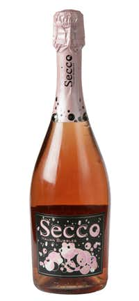 Secco Italian Bubbles Rosé, NV, Italy. $9.99 to $10.99; the Art of Wine on Preston, Pogo's, Central Market stores in Dallas and Plano, Reserve Wines in Las Colinas, Total Wine, Bear Creek and Whole Foods Market.