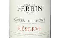 Famille Perrin 2010 Cotes du Rhone Rouge Reserve