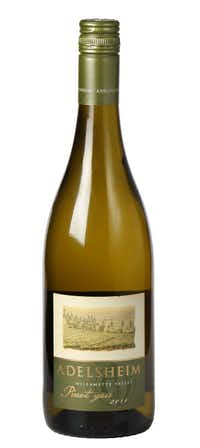 Adelsheim Pinot Gris 2011, Oregon. $17.25 to $19.99; PK's Wine and Spirits, Spec's, Central Market on Lovers Lane, Las Colinas Beverage. From the panel: This wine is crisp and clean, with pear and apple flavors, and a creamy texture.