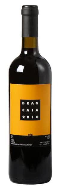 Brancaia Tre Rosso Toscano 2010. This affordable super Tuscan is a blend of 80 percent sangiovese, 10 percent merlot and 10 percent cabernet sauvignon. It's a medium-bodied wine, with juicy dark red fruit and smooth tannins.Evans Caglage