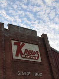 Kreuz Market, located in Lockhart, TX.