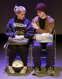 In Pluto Is Listening, we see the relationship between Benjamin McCoy (played by Nick Lewis) and Grace Grady (Joleen Wilkinson) from junior high forward. But the scenes are out of order, connected mainly by the quantity of drugs and alcohol consumed in each.