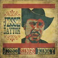 "CD cover of ""Jesse Sings Kinky"" by JESSE DAYTON."