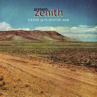 "CD cover of ""Rubble Guts & BB Eye"" by Dallas-based band PRETEEN ZENITH."