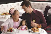 Photo of Dad and Me Valentine's event at American Girl for Feb. 10 Kids Corner.