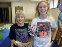 """Photo of siblings Courtney and Erik Honer who will be presenting a """"Not So Creepy Critters"""" presentation and signing copies of their book of the same name Feb. 18 and 19, 2012, at the Repticon Dallas Reptile & Exotic Animal Show in Ennis."""