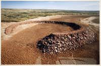 """""""The Amarillo Ramp"""" is the only earthwork Smithson realized in Texas."""