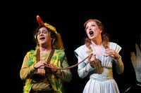 Patrick Carfizzi is an endearingly goofy, and sonorous, Papageno, while Ava Pine's Pamina supplies breathtaking high pianissimos.