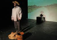 """Douglas Carter portrays Buck in """"The Freedmans,"""" which runs through Sunday at the Margo Jones Theatre in Dallas."""