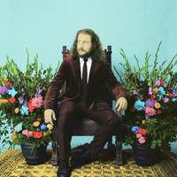 Indie rock singer-songwriter JIM JAMES. 2013.