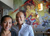 Joey and Lan Chi Le's new Tanoshii Ramen and Bar in Deep Ellum is Dallas' first restaurant devoted to to the Japanese dish.