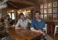 """""""People tell us we are crazy, and I guess we were a little when we first started with this,"""" says Javier Garcia del Moral (right), who recently opened the Wild Detectives, a small independent bookstore in Oak Cliff, with business partner Paco Vique (left).Rex C Curry - Special Contributor"""