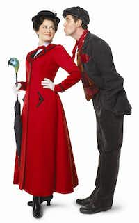 """The Broadway version of """"Mary Poppins"""" comes to Bass Hall in Fort Worth for a run March 27-April 8, 2012. // Byline: Disney/CML // Submitter: Joy Tipping // 02172012xGUIDE"""