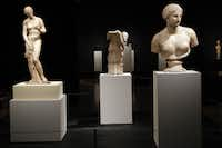 The Dallas Museum of Art recently opened a show titled, The Body Beautiful in Ancient Greece in Dallas, Texas. Shot on Wednesday, May 8, 2013.
