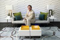 Jeffrey Johnson of Jeffrey Design LLC at his home in Dallas