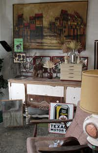 Mary Padian's shop is decked out with finds that make a home original and personal.