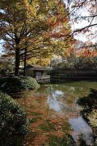 """The Japanese Garden at the Fort Worth Botanic Garden is part of a new book called """"Quiet Beauty"""" by Kendall H. Brown."""