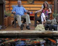 For Tom and Jennifer Walker, the payoff for their labor of love is simply relaxing by the pond and watching their big fish.Stewart F. House  - Special Contributor
