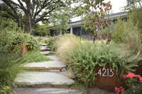 Among the six tour-worthy stops on the Garden Conservancy's Fort Worth Open Day will be a sustainable and low-maintenance plan created by Dallas landscape designer Patrick Boyd-Lloyd.