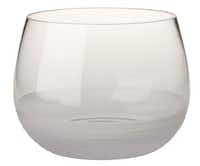 Bowled over: Intended to be a serving dish, the Celia bowl from Polish glassmaker Krosno has waves of frosted glass that add texture. $39.95 (on sale), at Crate & Barrel, multiple locations, and crateandbarrel.com