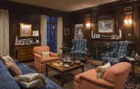 This sitting room is in the private quarters.Dan Piassick - Special Contributor