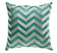 A budget-friendly way to get two trends in one: En Vogue's Madison Collection chevron decorative pillow is $14.99 at T.J. Maxx, multiple locations.