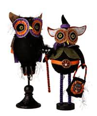 Zipper Owls, $44.95 and $32.95, from La Foofaraw, Plano.