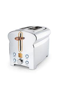 Michael Graves Design toaster ($60) is part of the new 150-piece collection at Penney's.