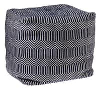 GO BOLD: Bargello meets chevrons in Elizabeth Square, the Happy Chic version by Jonathan Adler. $150 at J.C. Penney (multiple locations) and jcpenney.com.