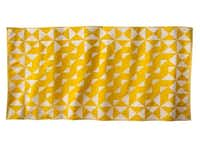 Nate Berkus hasn't done wrong by us at Target. We're fans of his classy brass-inlay boxes, textured pillows and sea-grass baskets, and we love his latest geometric-print beach towels. Nate Berkus at Target beach towel, $17.99, at Target, multiple locations, and target.com.-