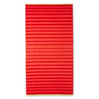Why not soak in those fiery rays while relaxing on an equally blazing towel? A few shots of neon lining the edges kick this number up another notch. J.C. Penney Home striped beach towel in Red Combo, $20, at J.C. Penney, multiple locations, and jcpenney.com.Keith Madigan Studios Inc.  -