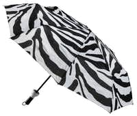 Concealed in a sleek 12-inch bottle, the Umbrella in a Bottle slides out with the first drop of rain.  When the sun comes out, the wet umbrella can be stored back inside keeping other belongings dry. $22.50 at La Foofaraw, Plano