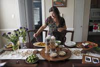 Sapna Punjabi-Gupta, a registered dietitian, serves an ayurveda meal of chila, chutney and shikanji. Ayurveda is a Hindu system that emphasizes the medicine properties of food.Lara Solt  -  Staff Photographer
