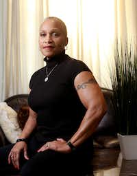 Linda Jackson of Grand Prairie has used exercise to empower her and help her overcome the past.