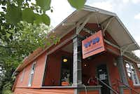 Outside Wild Detectives, 314 W. Eighth St. in Oak CliffLouis DeLuca - Staff Photographer