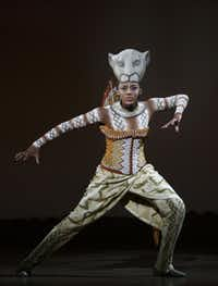 """Nia Holloway stars in """"The Lion King,"""" Oct. 2 to 20, at Fair Park Music Hall in Dallas."""